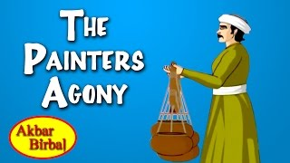 Akbar Birbal Animated Stories | The Painters Agony | English Animated Stories For Kids