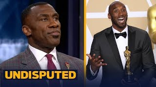 Skip and Shannon react to Kobe Bryant winning his first Oscar | UNDISPUTED