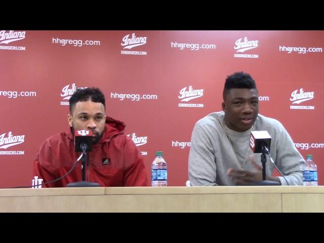 IU players postgame: Northwestern: Feb. 25, 2017