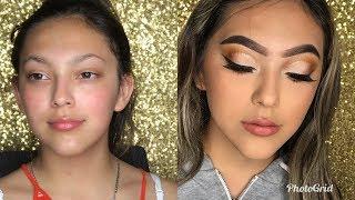Client Makeup Tutorial | Little Sister Makeup Transformation