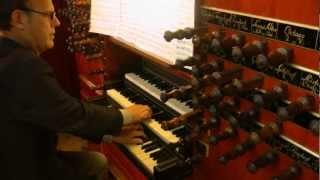 Willem van Twillert plays Bach, H-moll Messe, Agnus Dei, Garrels-organ, Purmerend [NL]