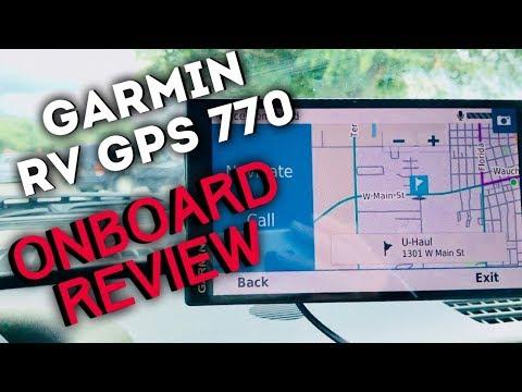 GARMIN RV GPS 770 REVIEW