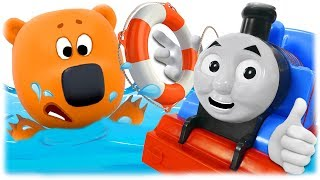 Train Thomas to the Rescue - Bjorn and Bucky from Be-Be-Bears