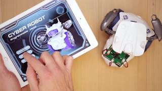 Cyber Robot Clementoni: programmazione e controllo via APP
