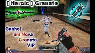 Blood Strike : Ganhei um Nova Granata VIP : New Heroic Granate  : Bs Chinese