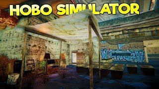 BUILDING THE ULTIMATE HOBO SHANTY TOWN BASE! PREPARING FOR WINTER! - Hobo Tough Life Gameplay Part 3