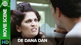 Archana Puran Singh slaps Akshay Kumar | De Dana Dan | Movie Scene