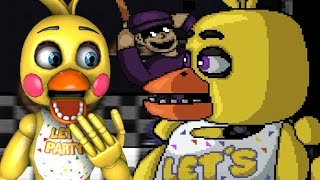TOY CHICA PLAYS: Super FNAF (Night 5) || TIME TO DIE, PURPLE GUY!!!