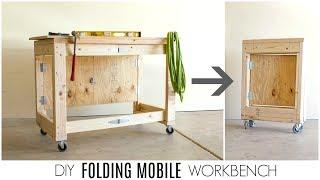 DIY Folding Mobile Workbench