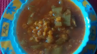 Lauki chana dal recipe - Dudhi chana dal subzi - Ghiya Chana Dal Recipe