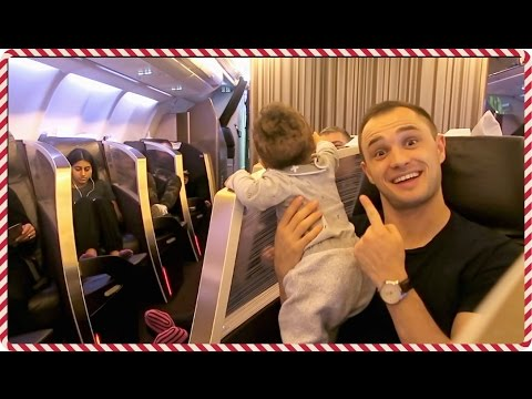BABY'S FIRST TIME IN DUBAI - DUBAI TRAVEL VLOG 1 | #VLOGMAS WEEK 3 | AdannaDavid
