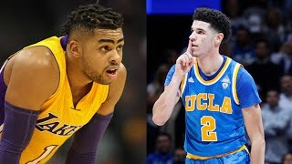 D'Angelo Russell Does NOT Want Lonzo Ball on the Lakers