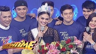 It's Showtime: Pia's grand welcome on It's Showtime