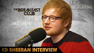 Ed Sheeran Freestyles and Talks Quitting Social Media on The Breakfast Club