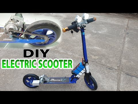 Xxx Mp4 Build A Electric Scooter With Starter Motor Motorcycle And 775 Motor 3gp Sex