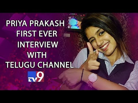 Xxx Mp4 Priya Prakash Varrier​ First Ever Personal Interview With Telugu Channel TV9 Exclusive 3gp Sex