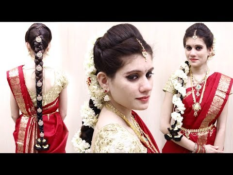 Xxx Mp4 Indian Bridal Hairstyles Wedding Hairstyles Step By Step Bridal Bun And Bridal Plait Hairstyle 3gp Sex