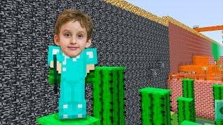 Minecraft : Mapa Tow Parkour - Paulinho Jogado no Celular Infantil para Crianças #8