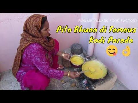 Kadhi Pakora Recipe ❤ Pakoda Kadhi Recipe ❤ Grandma's Recipes ❤ Punjabi Village Kadhi Recipe