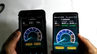 Cricket Wireless vs Metro Pcs speedtest October 9th 2016