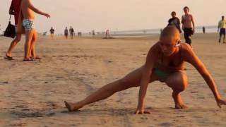 ГОА девушка йога Дуния