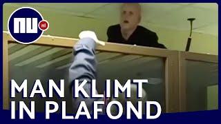 Moordverdachte wil via plafond ontsnappen uit Russische rechtbank | NU.nl