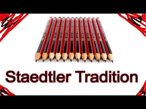 Best Pencil In The World search | Staedtler Tradition HB and 2B Pencils