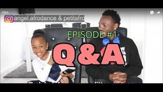 Q&A Angel & Petit    PETITAFRO TV #1 EPISODE