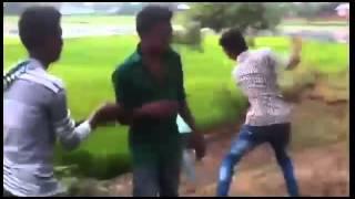 Bangla funny video Rastar polapan