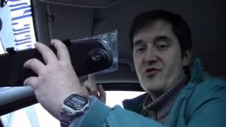 Test 1080P 2.8 inch HD LCD Car Recorder Dashboard Mirror HD Camera
