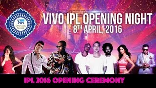 IPL 2016 Opening Ceremony: Chris Brown, Major Lazer, Ranveer Singh, Katrina Kaif