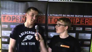 Interview Léo Gygax (attaquant SHC Courroux)