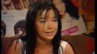 Björk interview with Chris Evans on TFI Friday.