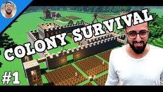 LA CASA DEL ARBOL | COLONY SURVIVAL #1 | Gameplay Español |🐟LaPeceraTONTA🐟|