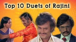 Top 10 Duets of Rajinikanth | Super star | Audio Jukebox | HD Songs | Tamil