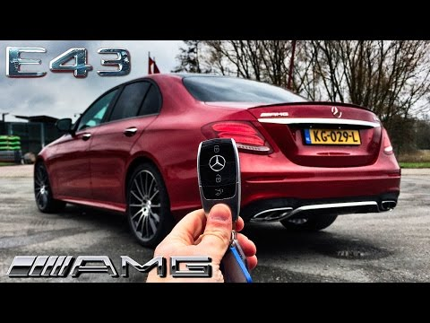 Mercedes Benz E Class 2017 REVIEW E43 AMG POV by AutoTopNL