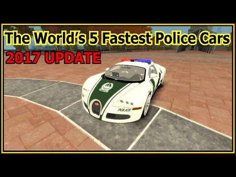 watch The World's 5 Fastest Police Cars (new cars 2017 usa)