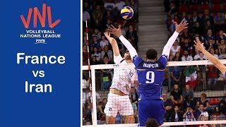 France vs Iran | Highlights | 2018 Volleyball Nations League | Men