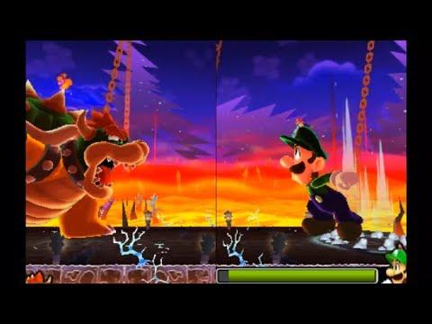 Mario and Luigi Dream Team All Boss Fights Hard Mode