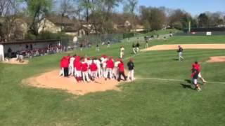 Tyler Kent Home Run vs. Mount Union