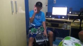 DJ R7 AO VIVO NA MPC  Linkin Park ( INICIO DE TUDO DJ RS )
