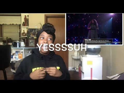 """The Voice 2018 Kyla Jade - Top 12: """"One Night Only"""" (REACTION!!)"""
