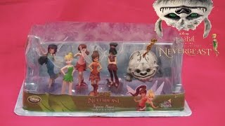 Tinkerbell Legend of the Neverbeast Disney Fairies Toys Playset Figurines Unboxing