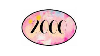 2000  ¦  MERCI ❤