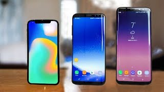 iPhone X vs Galaxy S8 & S8 Plus - Full Comparison