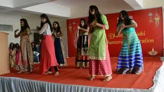 Amazing dance Performance on Dhanteras Celebration