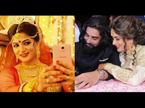 শ্রাবন্তীর বিয়েতে যা হয়েছিল (ছবিসহ) | Srabanti Chatterjee & Krishan Vraj Wedding Photos 2016