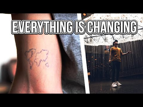 everything is changing..