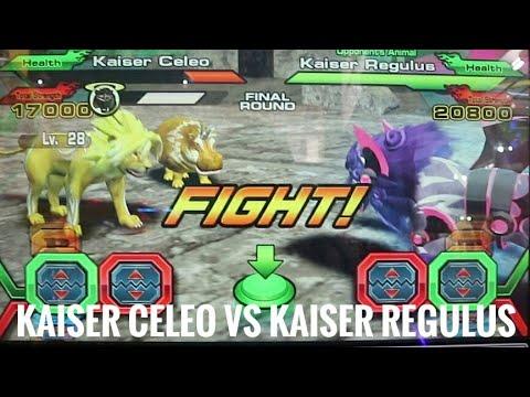 Animal Kaiser Kaiser Celeo VS Kaiser Regulus VS Kaiser Vrede