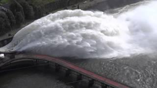 Tehri Garhwal Dam Flood Gates Opened  | Uttarakhand Floods, June 2013
